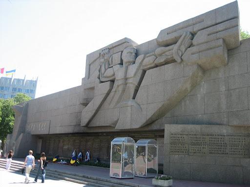 Pomnik radzieckiego imperializmu w Sewastopolu