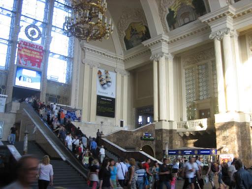 Misterne wnętrza kijowskiego dworca głównego