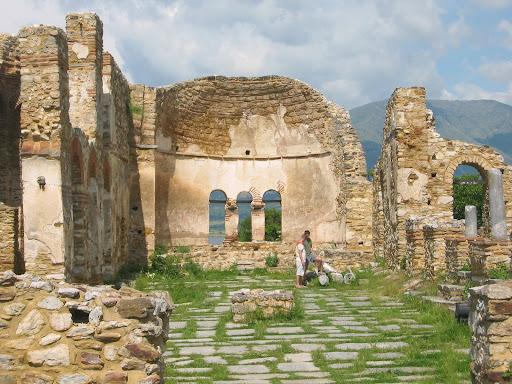 Michał i Damian eksplorują ruiny