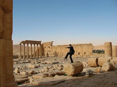 Demolka w Palmyrze
