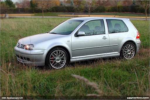 2001 Volkswagen Golf Gti 25th Anniversary. Although the Golf is not the