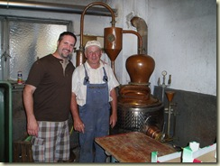Jon & Herr Lang with his Still