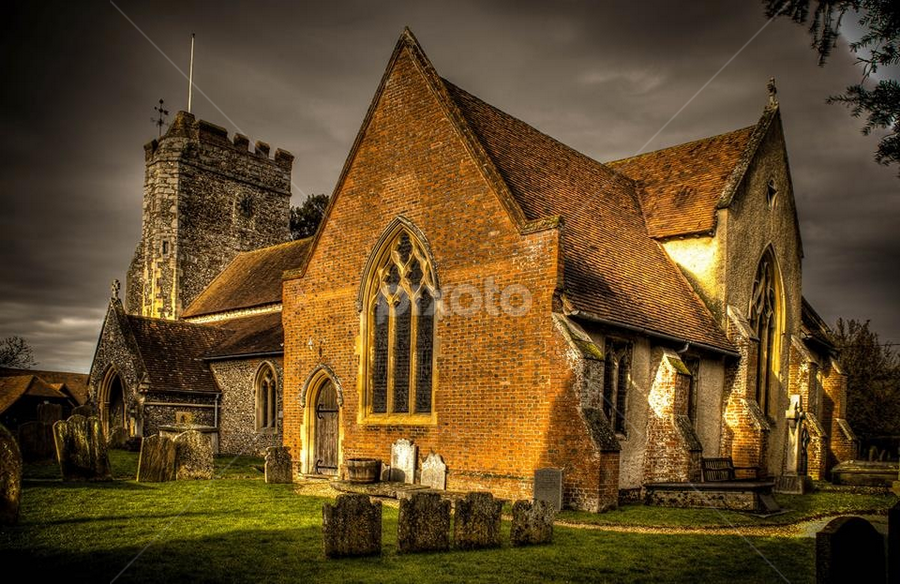 St Lawrences by John Walton - Buildings & Architecture Places of Worship ( heritage focus, church )