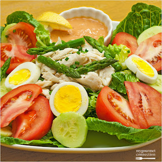 Crab Louis (Louie) Salad