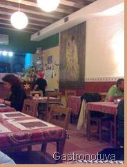Interior restaurante Bindu
