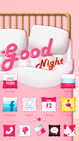 Screenshot of Good Night GO Launcher Theme