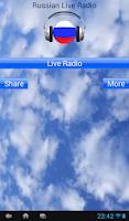 Screenshot of Russian Live Radio