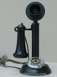 Candlestick Phones - American Electric Dial Candlestick $400