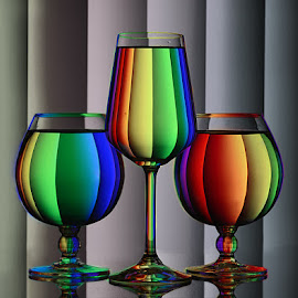 Colors of Rainbow #3 by Rakesh Syal - Artistic Objects Glass