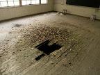 Trapdoor in a classroom