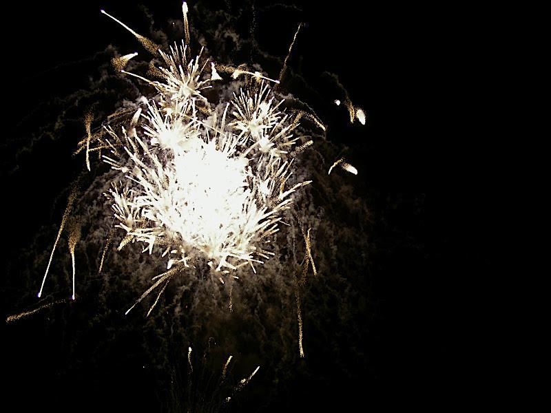 white hot fireworks