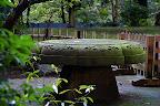 A very heavy table in Shizen Kyoiku Park