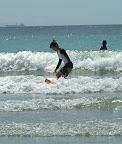 Aya surfing at Izu 02