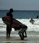 Aya surfing at Izu 09