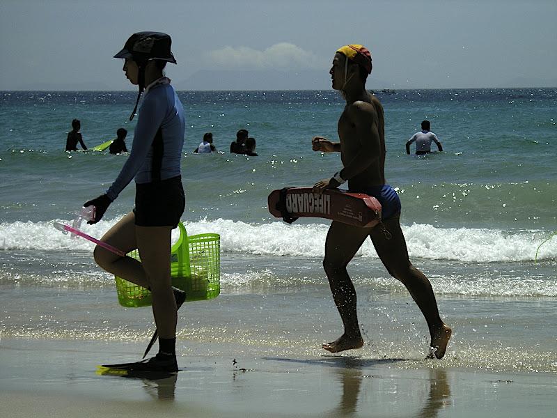 Izu beach lifeguard