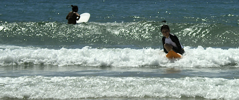 Aya surfing at Izu 11