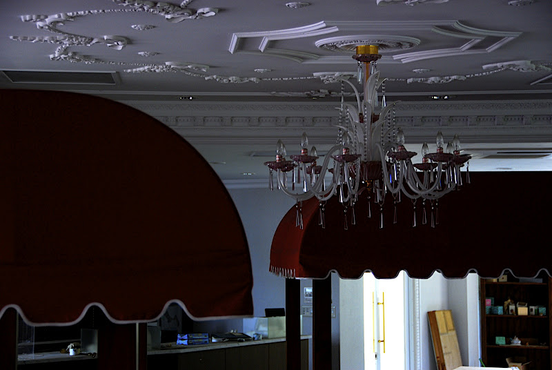 This chandelier reminds me of birthday cake for some reason