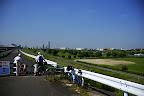 My blue Trek 7.3 FX in front of Arakawa bike path