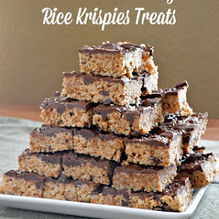 Nutella Cookie Dough Rice Krispies Treats