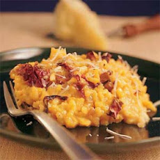 Winter Squash Risotto with Radicchio