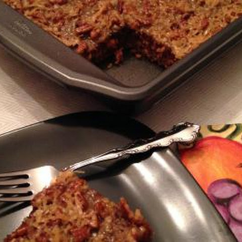 Spicy Oatmeal Cake with Broiled Icing