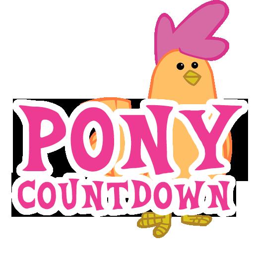 PonyCountdown LOGO-APP點子