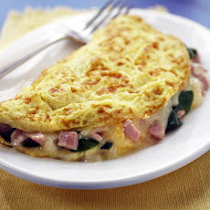 Spinach, Ham & Cheese Omelet