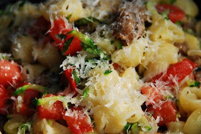imported Italian gourmet pasta - recipe
