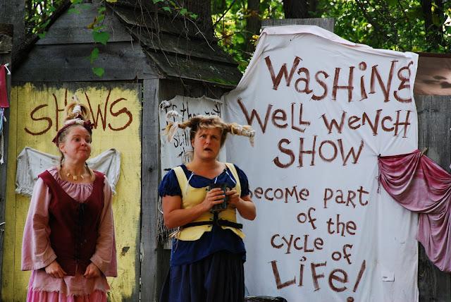 Renaissance festival actors