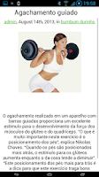 Screenshot of Exercícios para Bumbum