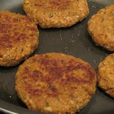 Vegan Nutritional Yeast and Tvp Veggie Burgers