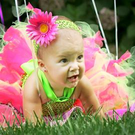 Caught Me! by Lyndsey Richardson - Babies & Children Toddlers ( birthday, tutu, pink, baby, toddler )