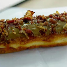 Maple Glazed Bacon Long John