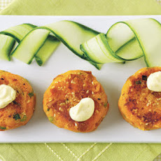 Sweet Potato And Carrot Patties