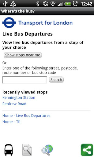 Where's the bus