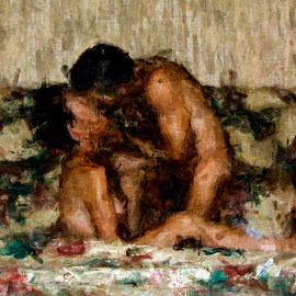I Adore You by Kurt Van Wagner - Nudes & Boudoir Artistic Nude ( sex, nude, lovers, kissing, passionate, romantic, romance, sensual, couples, love, kiss, sexy, naked, couple, passion, nudes, kisses )