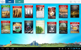 Screenshot of T-Mobile eReader