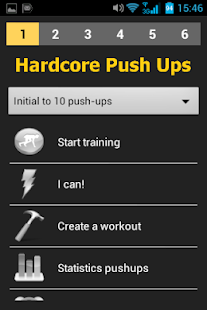Hardcore Push Ups - screenshot