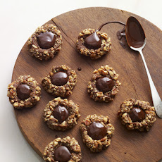 Chocolate Thumbprint Cookies Recipe
