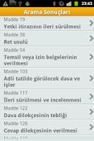 Screenshot of Hukuk Muhakemeleri Kanunu