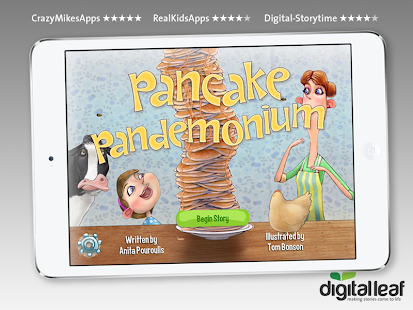 Pancake Pandemonium Kids Book - screenshot