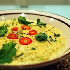 Salmon Cutlets in Indian Creamy Sauce