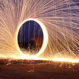 by Noman Lodhi - Abstract Light Painting