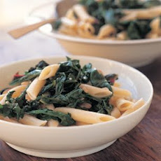 Penne with Greens and Pine Nuts