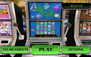 Screenshot of Hooked HD Slot Machine