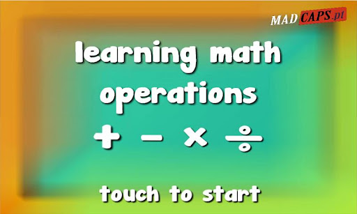 Learning Math Operations