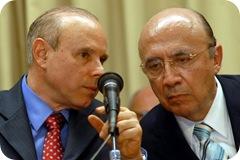 Guido Mantega e Henrique Meirelles