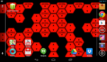 Screenshot of Hexagon Battery Indicator LWP
