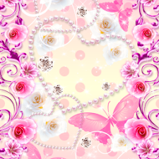 Live Wallpaper RosePapillon