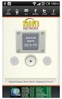 Screenshot of Radio Sonora